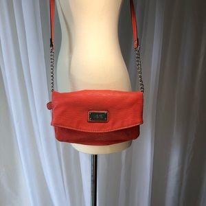 Orange Nine West Crossbody Bag